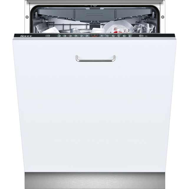 NEFF N50 S713M60X0G Fully Integrated Standard Dishwasher - Stainless Steel Control Panel - A++ Rated