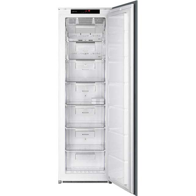 Tall upright freezer