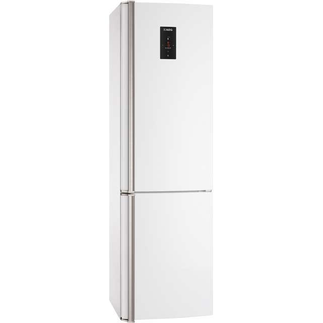 aeg s83520cmw2 a frost free freestanding fridge freezer. Black Bedroom Furniture Sets. Home Design Ideas