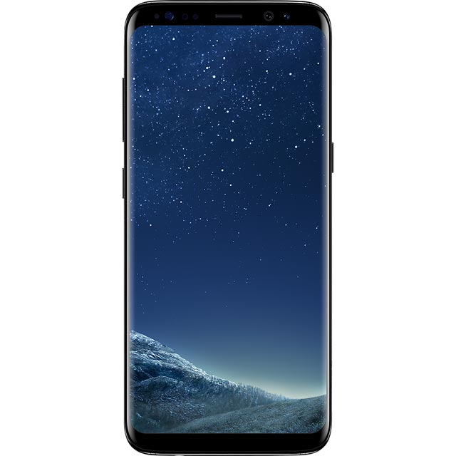 Samsung Premium Pre-owned Galaxy s8 64GB Smartphone in Black