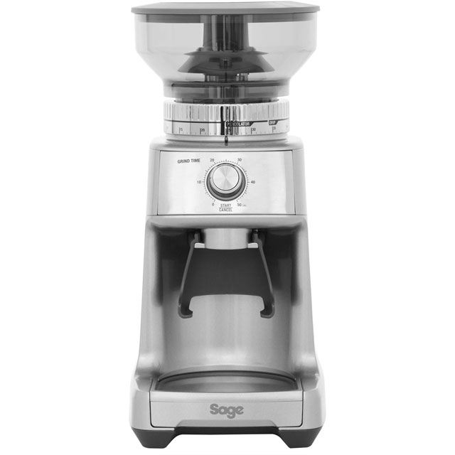 Sage By Heston Blumenthal The Dose Control Pro BCG600SIL Coffee Grinder in Stainless Steel