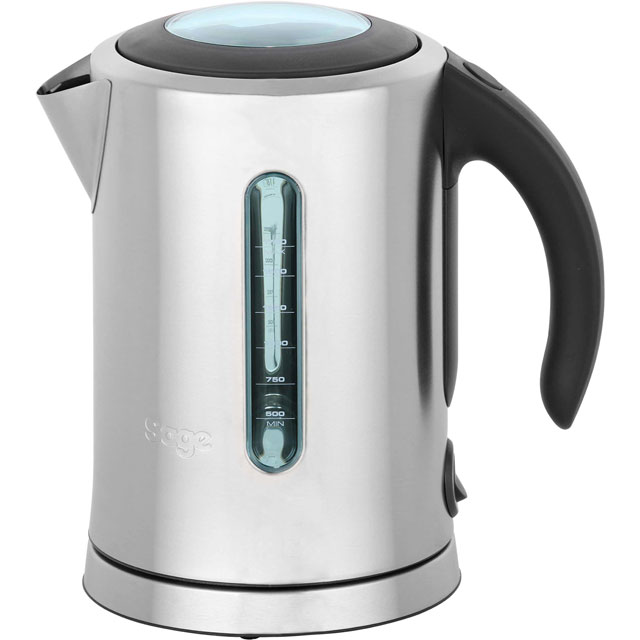 Sage The Soft Open Kettle BKE590UK Kettle - Brushed Steel - BKE590UK_SI - 1