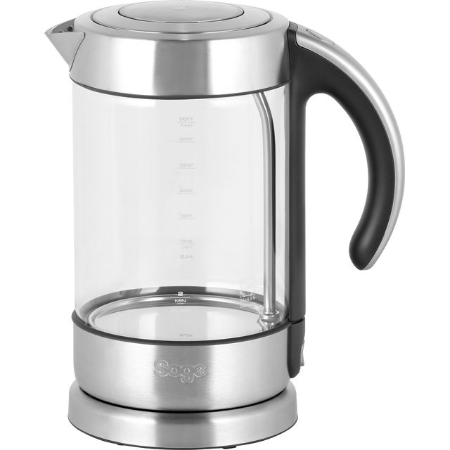 Sage The Crystal Clear Classic Kettle Kettle - Brushed Steel