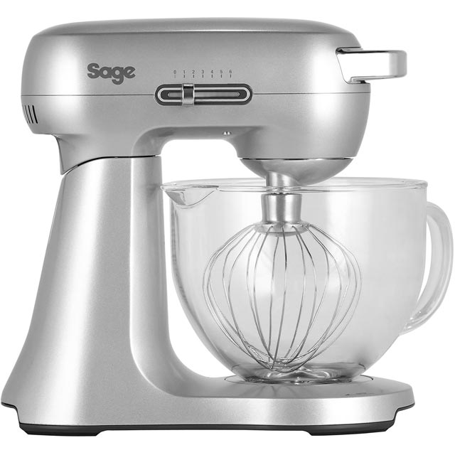Sage The Scraper Mixer BEM430 Stand Mixer with 4.7 Litre Bowl - Silver