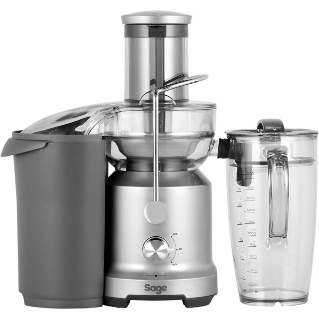 Sage The Nutri Juicer Cold BJE430SIL Juicer - Stainless Steel - BJE430SIL_SS - 1