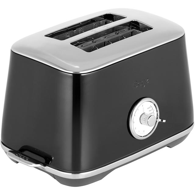 Sage The Luxe BTA735SLQ 2 Slice Toaster - Black - BTA735SLQ_BK - 1
