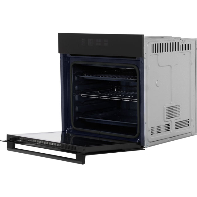 Samsung Prezio Dual Cook BQ2Q7G078 Built In Electric Single Oven - Black Glass - BQ2Q7G078_BKG - 3