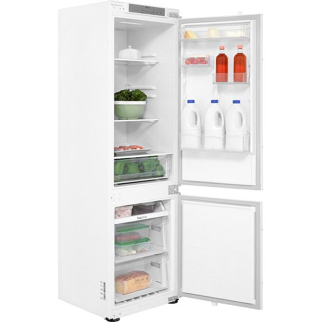 Samsung BRB260000WW Integrated 70/30 Frost Free Fridge Freezer with Sliding Door Fixing Kit - White - A+ Rated - BRB260000WW_WH - 1