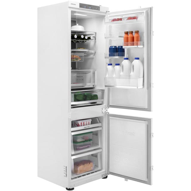 Samsung Chef Collection BRB260087WW Integrated 70/30 Frost Free Fridge Freezer with Sliding Door Fixing Kit - White - A++ Rated - BRB260087WW_WH - 1
