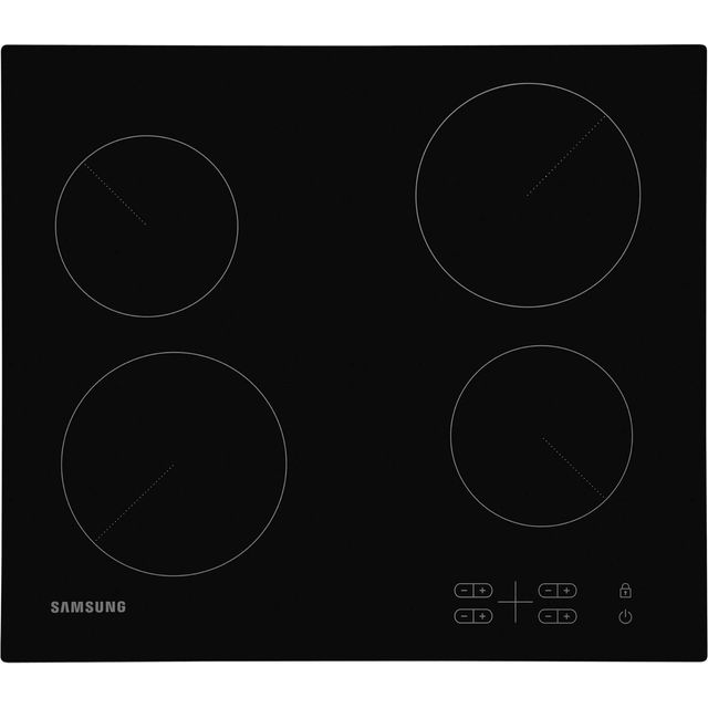 Samsung C61R2AEE Integrated Electric Hob in Black