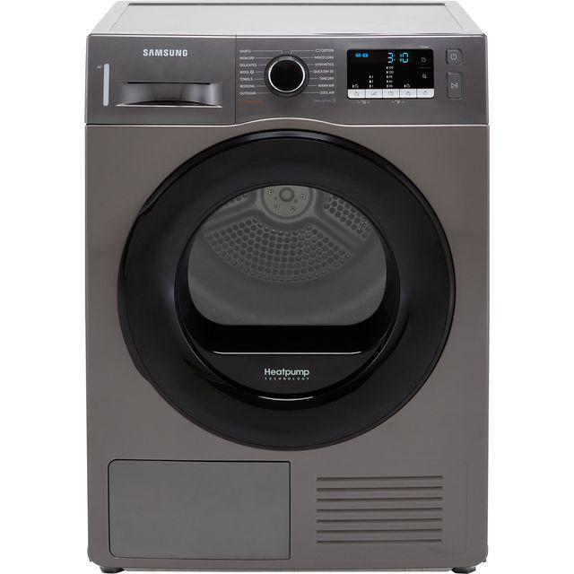 Samsung Series 5 OptimalDry� DV80TA020AX 8Kg Heat Pump Tumble Dryer - Graphite - A++ Rated