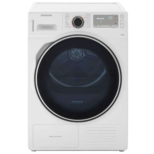 Samsung DV90H8000HW 9kg Heat Pump Tumble Dryer