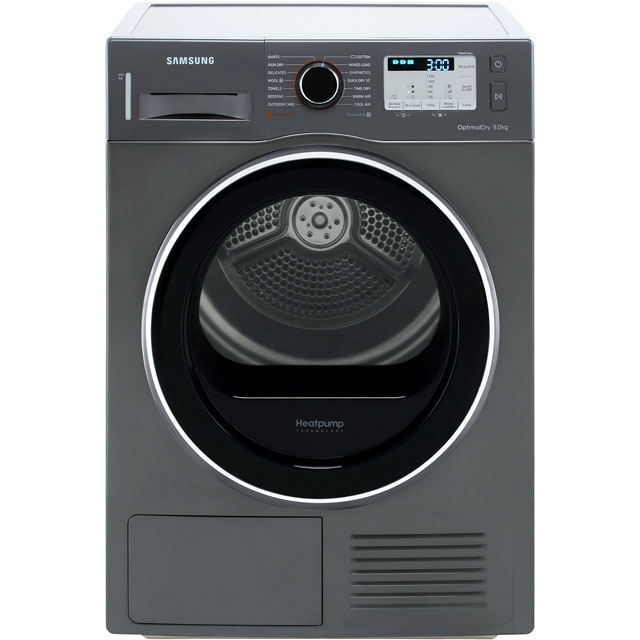 Samsung DV90M5003QX Heat Pump Tumble Dryer - Graphite - DV90M5003QX_GH - 1