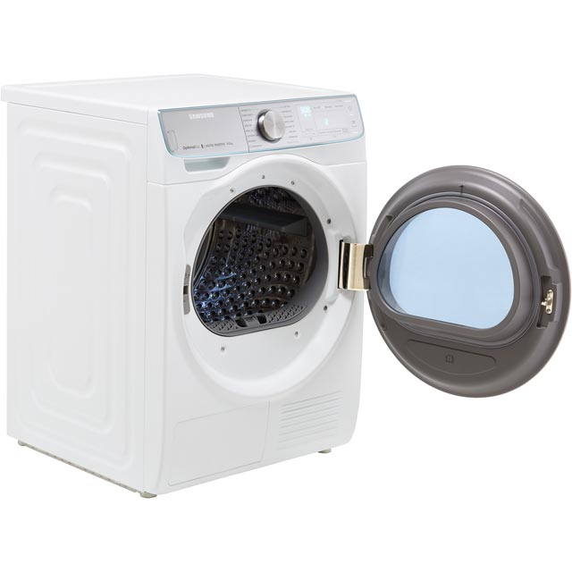 Samsung DV90N8289AW Heat Pump Tumble Dryer - White - DV90N8289AW_WH - 4