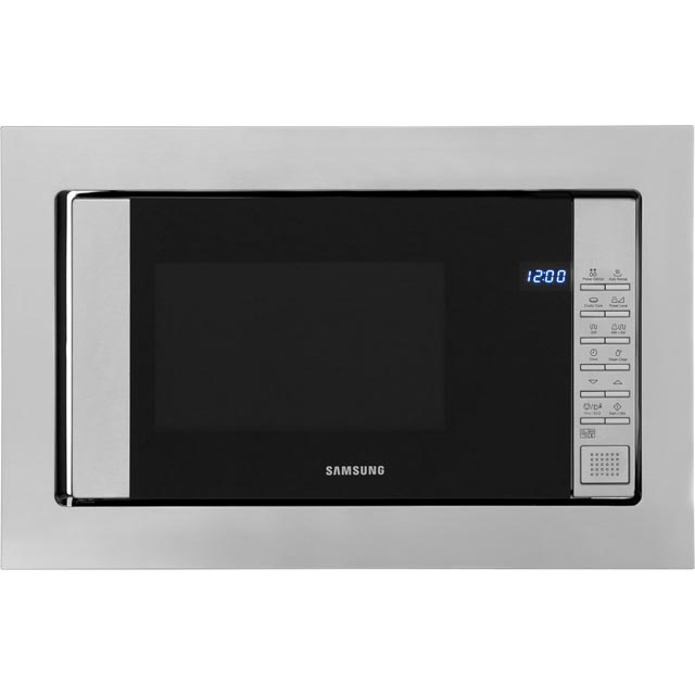 samsung fg87sust 800 watt microwave built in stainless. Black Bedroom Furniture Sets. Home Design Ideas