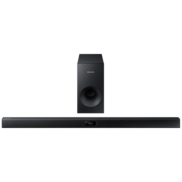 Samsung HW-J355 Bluetooth Soundbar with Wired Subwoofer - Black