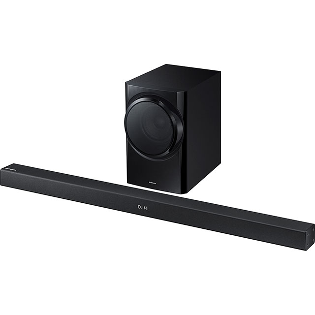 Samsung HW-K335 Bluetooth Soundbar with Wired Subwoofer - Black - HW-K335 - 1