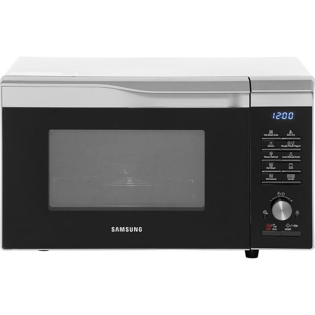 Samsung Easy View™ MC28M6075CS 28 Litre Combination Microwave Oven - Silver - MC28M6075CS_SI - 1