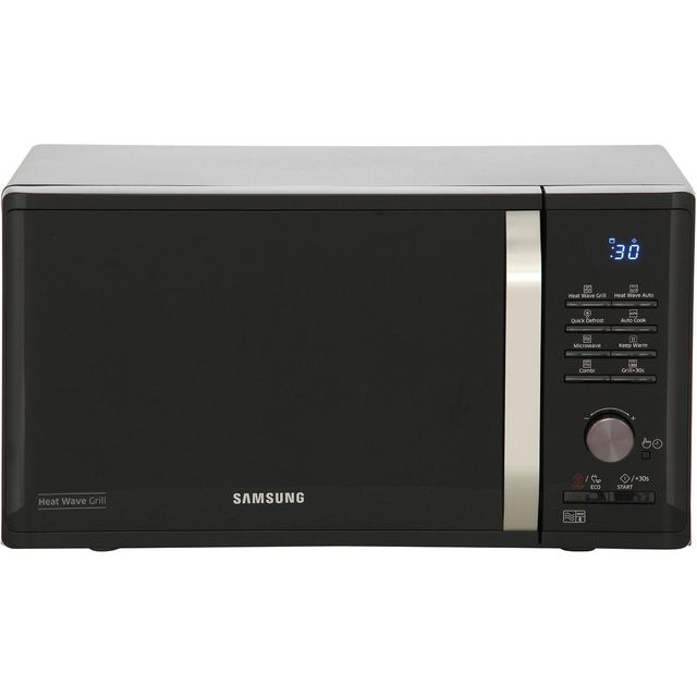 Samsung MG23K3575AK 23 Litre Microwave With Grill - Black - MG23K3575AK_BK - 1