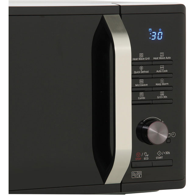 Samsung MG23K3575AK 23 Litre Microwave With Grill - Black - MG23K3575AK_BK - 3