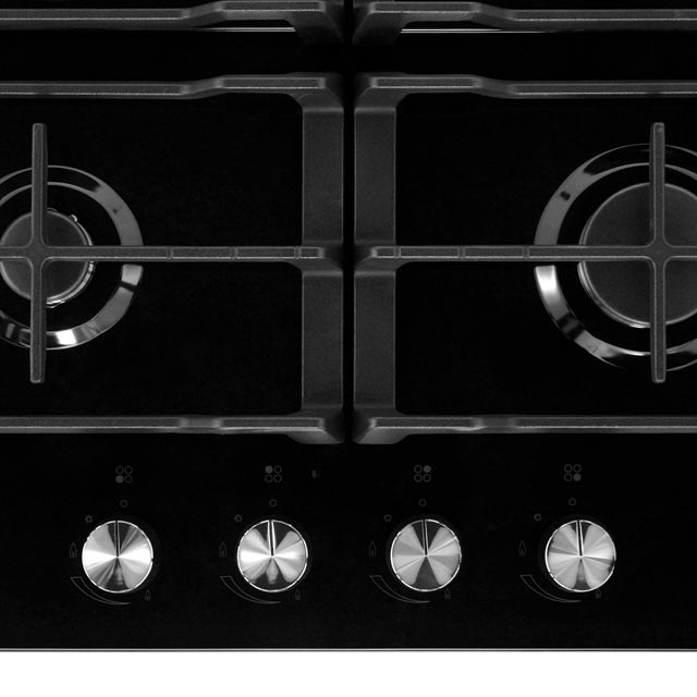 Samsung Prezio NA64H3000AK Built In Gas Hob - Black / Glass - NA64H3000AK_BKG - 3