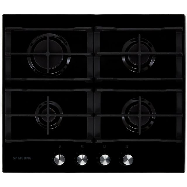 Samsung NA64H3000AK 60cm Gas Hob - Black / Glass