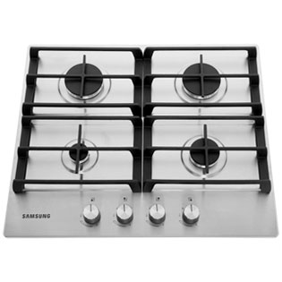 Samsung NA64H3010AS 60cm Gas Hob - Stainless Steel - NA64H3010AS_SS - 1
