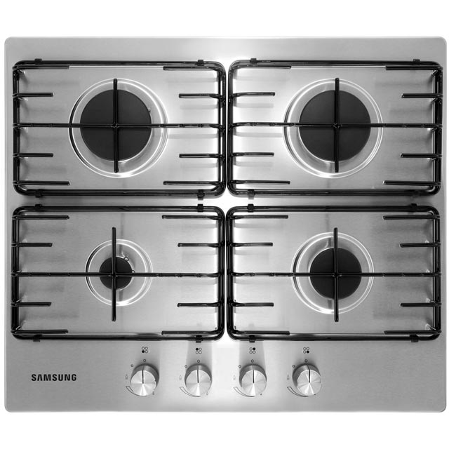 Samsung NA64H3110AS 60cm Gas Hob - Stainless Steel - NA64H3110AS_SS - 1