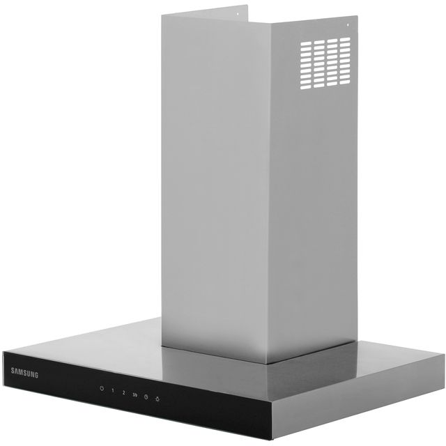 Samsung Prezio NK24M5070BS Built In Chimney Cooker Hood - Stainless Steel / Black Glass - NK24M5070BS_SSB - 1