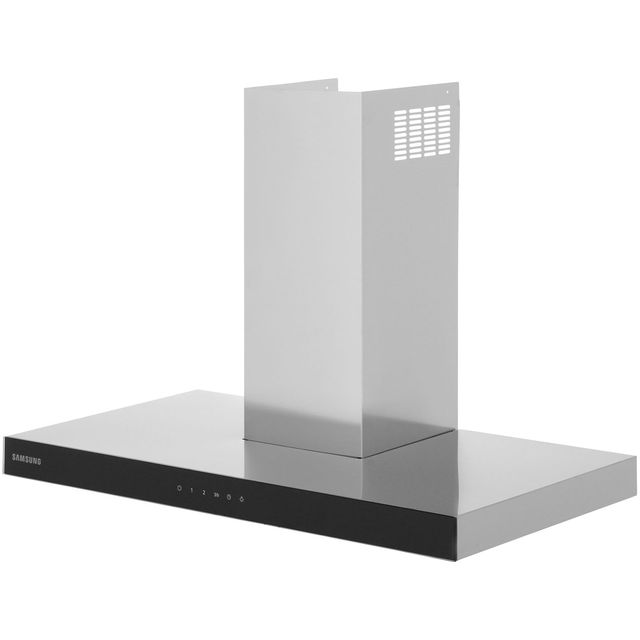 Samsung Prezio NK36M5070BS Built In Chimney Cooker Hood - Stainless Steel / Black Glass - NK36M5070BS_SSB - 1