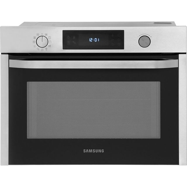 Samsung NQ50J3530BS Built In Electric Single Oven - Stainless Steel - NQ50J3530BS_SS - 1
