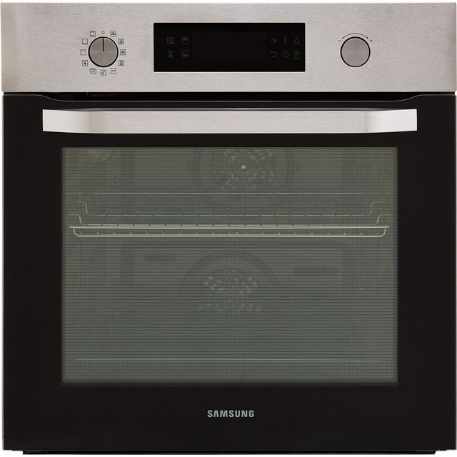 Samsung Dual Cook NV66M3571BS Built In Electric Single Oven - Stainless Steel - A Rated - NV66M3571BS_SS - 1