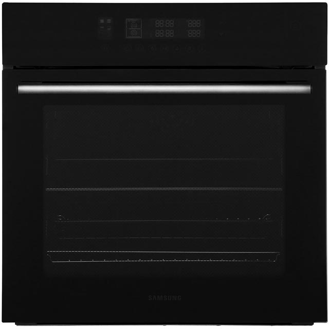 Samsung Prezio Dual Cook NV70F5787LB Built In Electric Single Oven - Black - NV70F5787LB_BK - 1