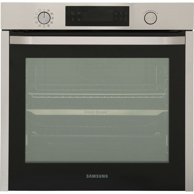 Samsung Dual Cook Electric Single Oven - Stainless Steel - A Rated