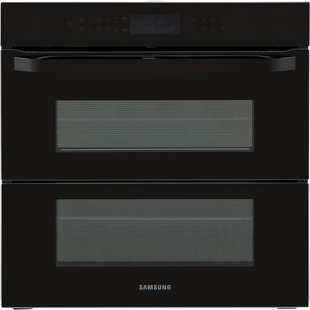 Samsung Prezio Dual Cook Flex NV75R7646RB Built In Electric Single Oven - Black Glass - A+ Rated - NV75R7646RB_BKG - 1