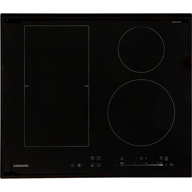 Samsung NZ64K5747BK 60cm Induction Hob - Black - NZ64K5747BK_BK - 1