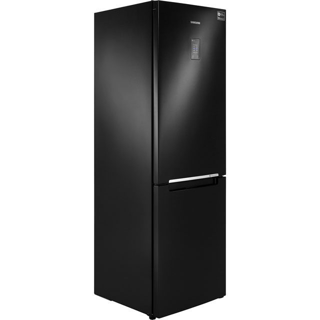 Samsung RB Combi Range RB31FERNDBC 60/40 Frost Free Fridge Freezer - Black - A+ Rated - RB31FERNDBC_BK - 1