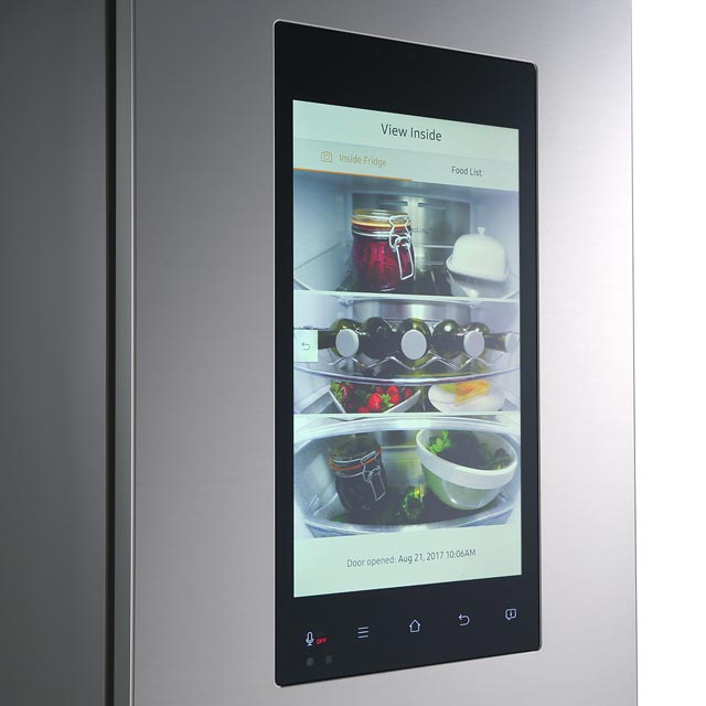 Samsung Family Hub™ RB38M7998S4 60/40 Frost Free Fridge Freezer - Stainless Steel - RB38M7998S4_SS - 2