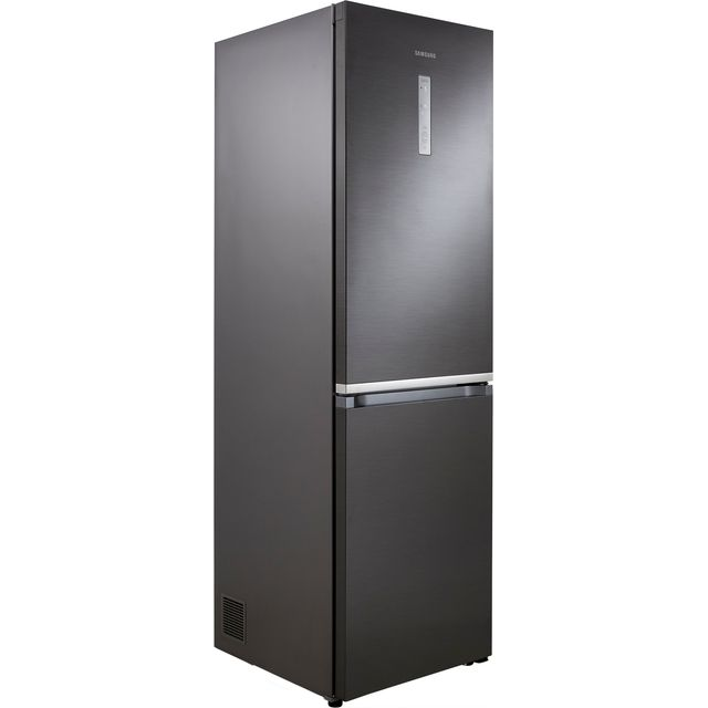 Samsung RB38R7817B1 Fridge Freezer - Black Steel - RB38R7817B1_BSS - 1