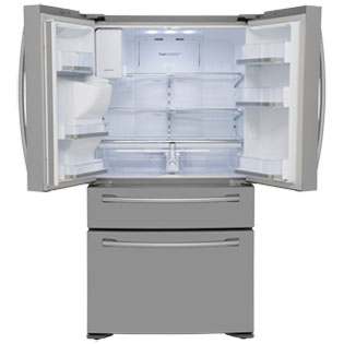 Samsung Four Door RF24FSEDBSR American Fridge Freezer - Stainless Steel - RF24FSEDBSR_SS - 2
