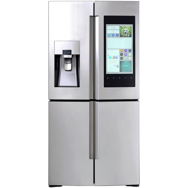 samsung family hub rf56m9540sr american fridge freezer stainless steel