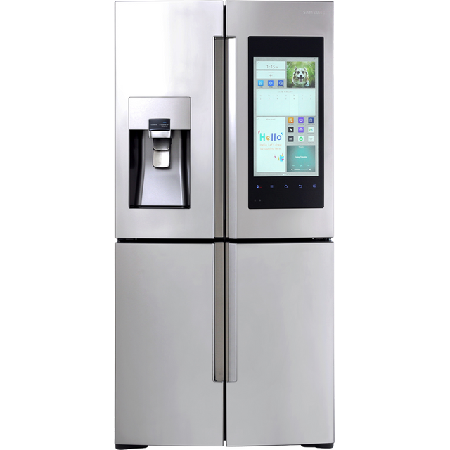 Samsung Family Hub™ RF56M9540SR Wifi Connected American Fridge Freezer - Stainless Steel - A+ Rated - RF56M9540SR_SS - 1