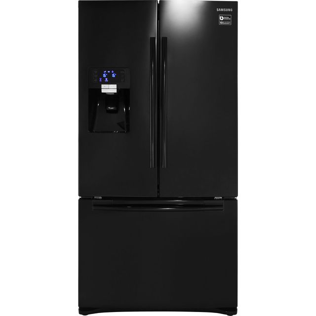 Samsung G-Series RFG23UEBP American Fridge Freezer - Black - A+ Rated Best Price, Cheapest Prices