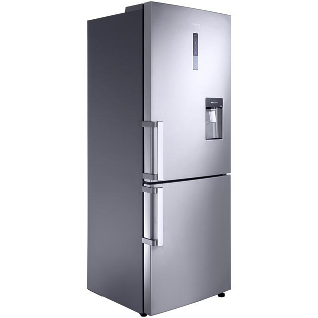 Samsung G-Series 70/30 Frost Free Fridge Freezer - Clean Steel - A+ Rated