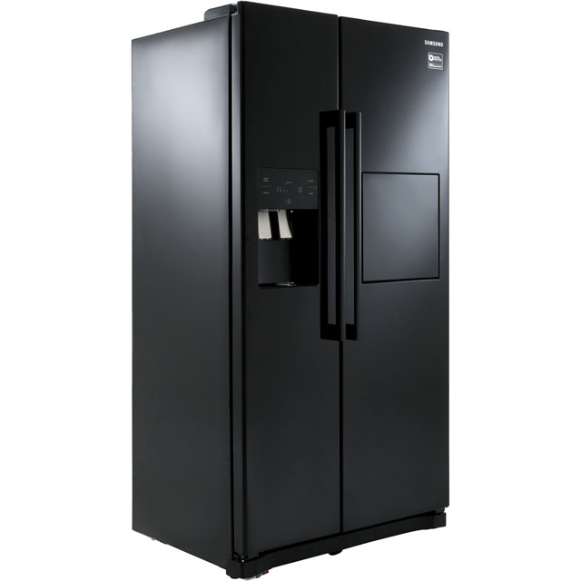 Samsung RS3000 RS50N3913BC American Fridge Freezer - Black - A+ Rated - RS50N3913BC_BK - 1
