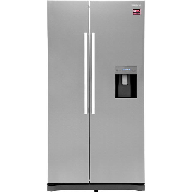 Samsung RS3000 RS52N3313SL American Fridge Freezer - Clean Steel - RS52N3313SL_CS - 1