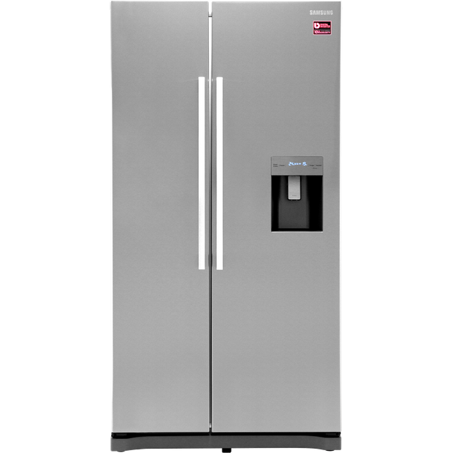 Samsung RS3000 RS52N3313SL American Fridge Freezer - Clean Steel - A+ Rated Best Price, Cheapest Prices