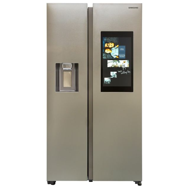 Samsung Family Hub™ RS68N8941SL American Fridge Freezer - Aluminium - RS68N8941SL_AI - 1
