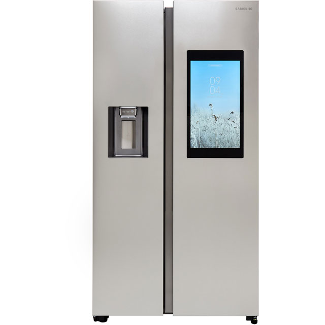Samsung Family Hub™ RS68N8941SL Wifi Connected American Fridge Freezer - Aluminium - A++ Rated - RS68N8941SL_AI - 1
