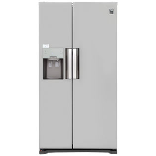 Samsung RS7667FHCSP Freestanding American Fridge Freezer